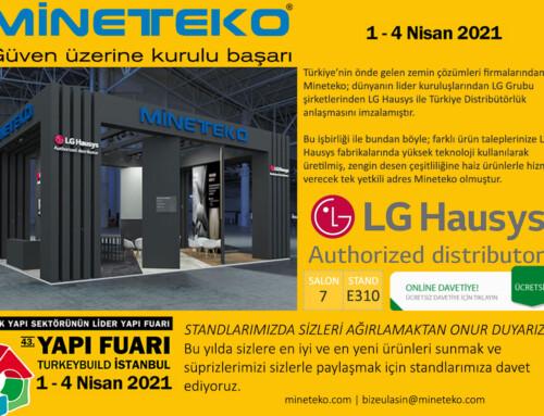 LG Hausys Türkiye Yapı fuarında müşterileri ile buluşacak